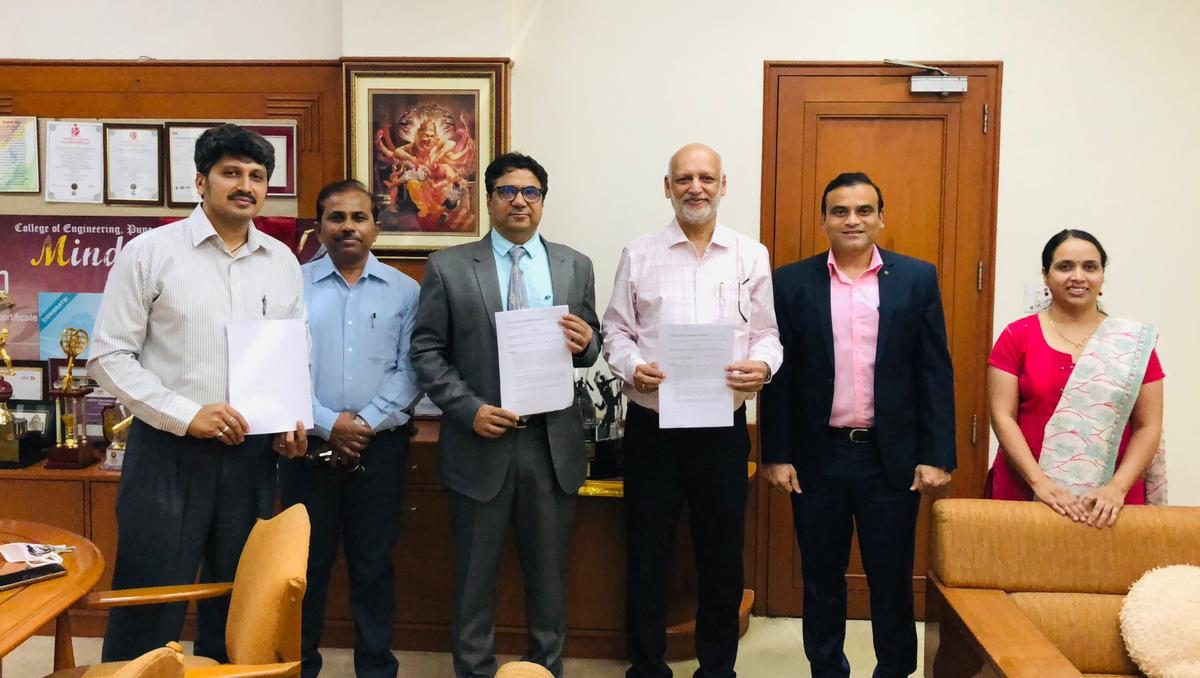 iQ3Connect Sign MoU with VIT Pune