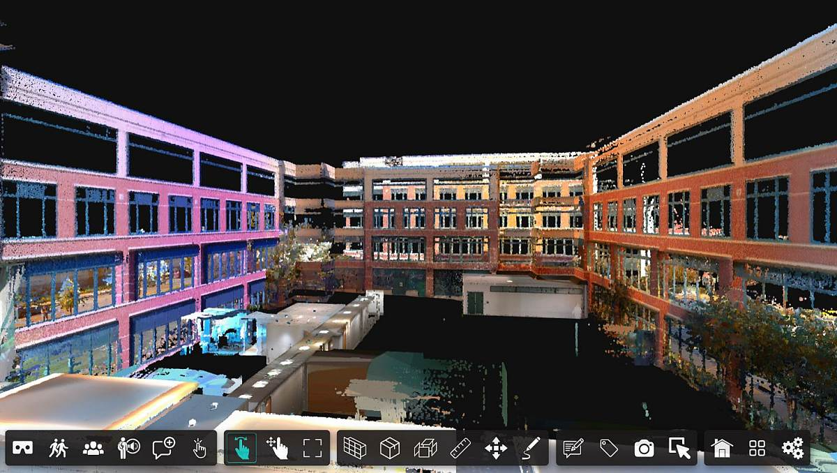3D Scan of a Large Office Building in Virtual Reality