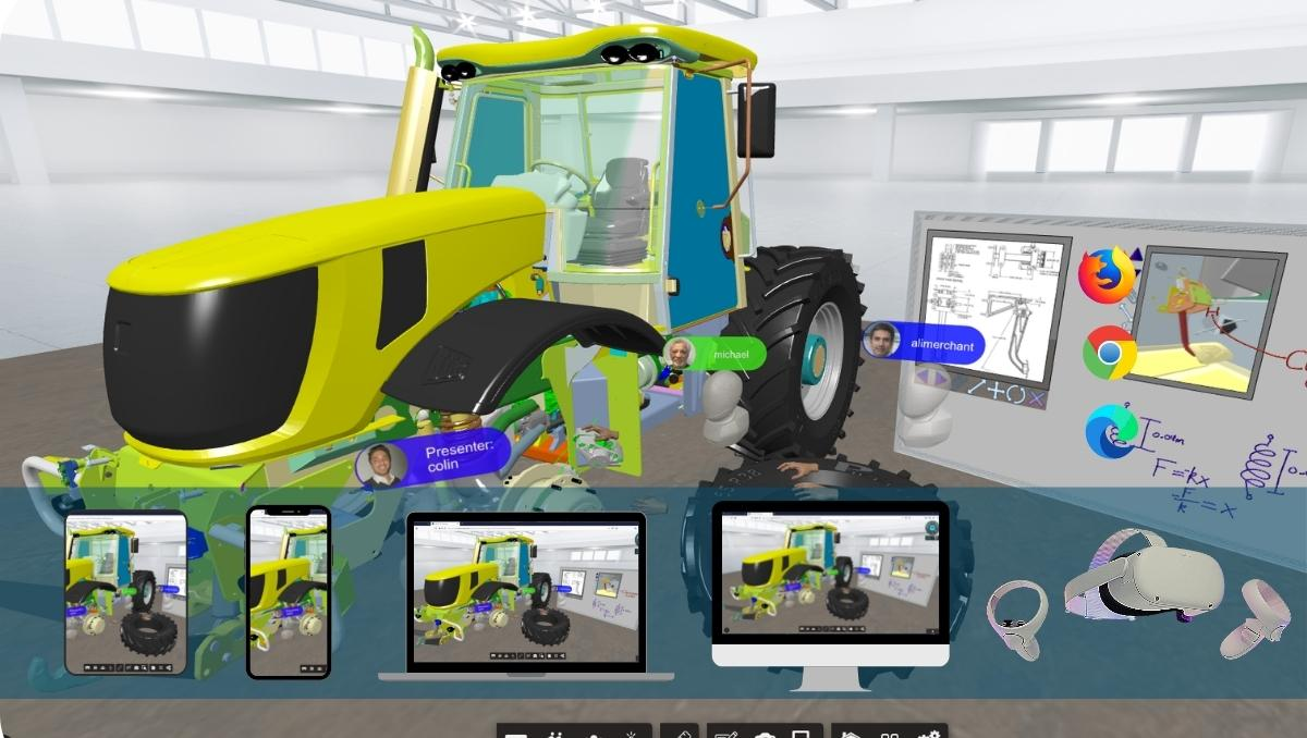 Free Trial Virtual Reality Training and Collaboration Platform